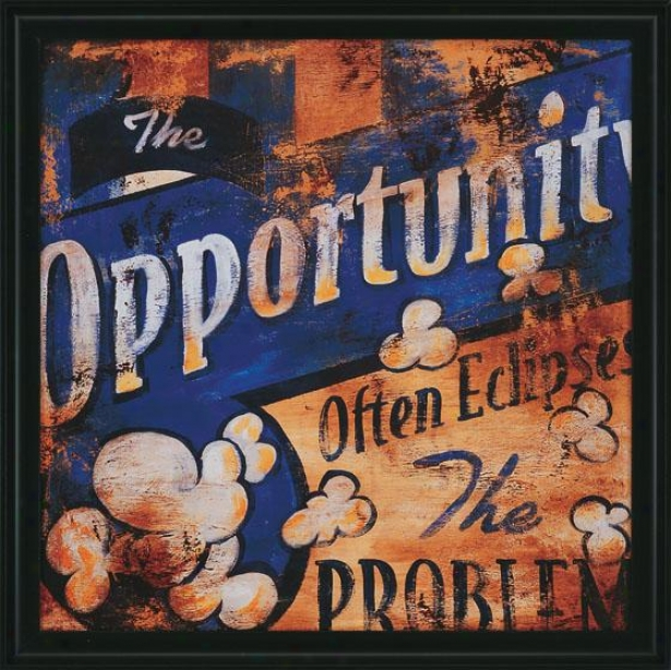 """the Opportunity Wall Art - 27""""squared2""""d, Livid"""