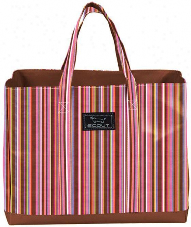 """the Source Deano Tote - 19""""wx15""""h, Graceline Strpe"""