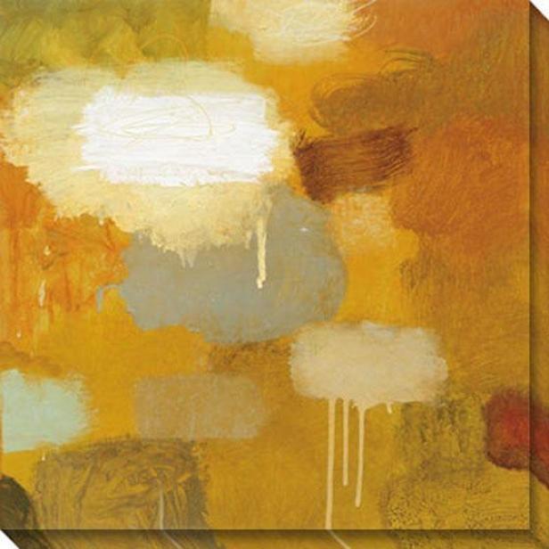The Perfect Summer Ii Canvas Wall Art - Ii, Gold