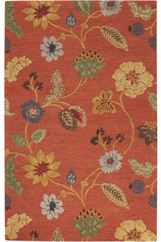 """the Portico Rug - 9'9""""x13'9"""", Red"""