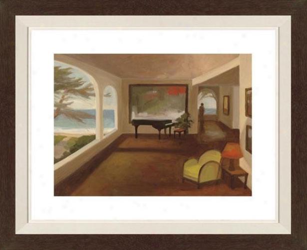 The Terrace Room I Framed Wall Art - I, Fltd Espresso