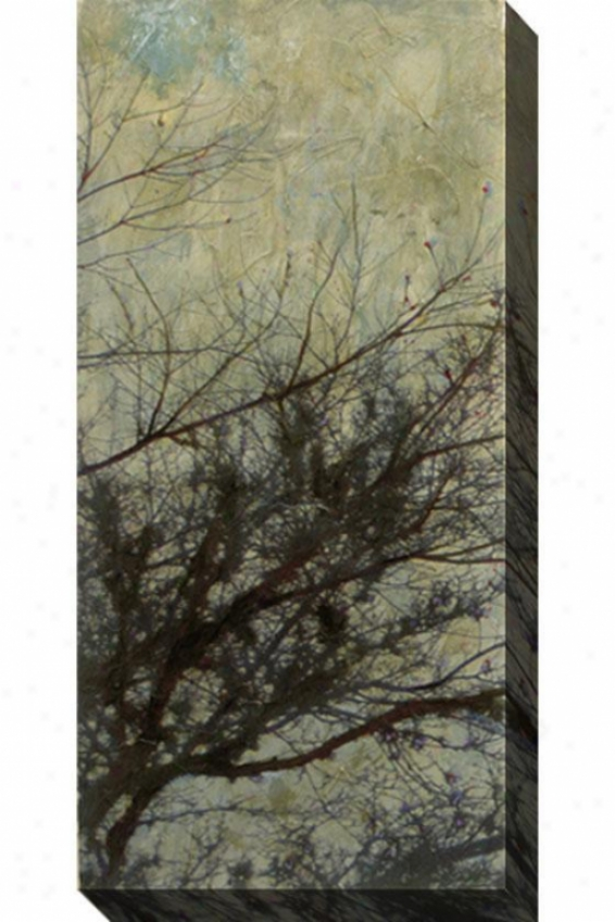 The Twilight I Canvas Wall Art - I, Gray
