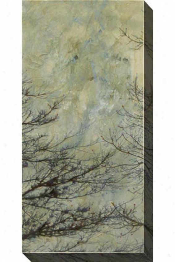 The Twilight Ii Canvas Wall Art - Ii, Gray