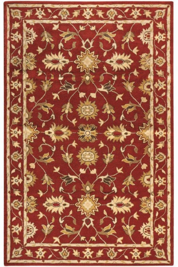 Thornbury Rug - 6'x9', Red