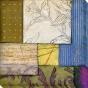 Abstract Season I Canvas Wall Art - I, Green