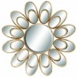 """adaira Wall Mirror - 37""""diamx5""""d, Gold"""