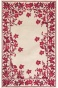 """argonne Design Area Rug - 7'6""""9x'6"""" Oval, Burgundy"""