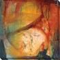 Eccentric Abstraction Viii Canvas Wall Art - Viii, Yellow