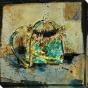 Fetish Series Iii Canvas Wall Art - Iii, Blue