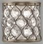 """lola Roux Wall Sconce - 8""""h X 8""""w, Burnished Svler"""