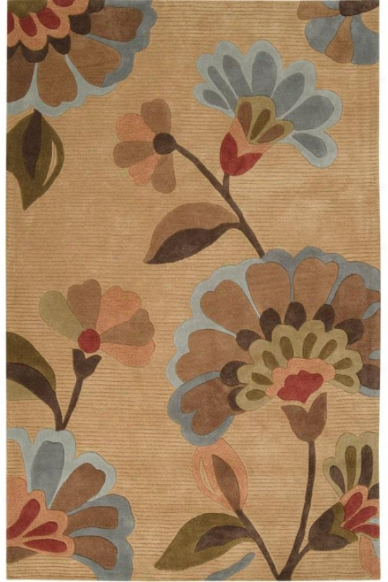 """tiffany Area Rug Ii - 2'3""""x3'9"""", Brown"""