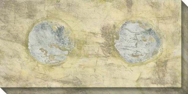 Tilt Ii Canvas Wall Art - Ii, White