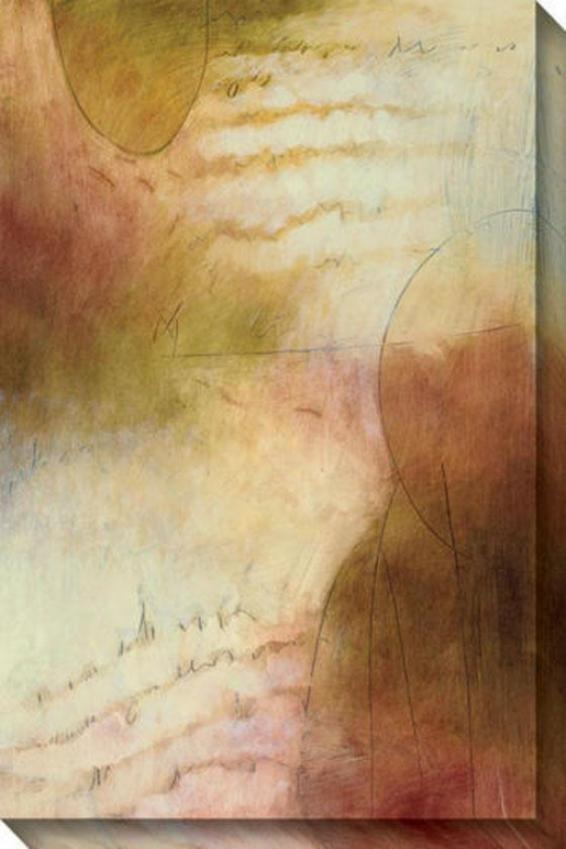 Timeless Iii Canvas Wall Art - Iii, Earthtones