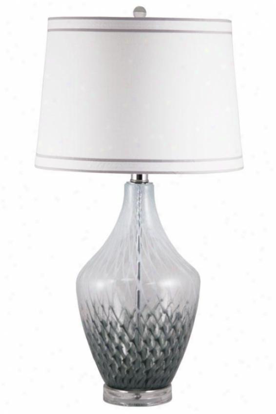 """""""tina Table Lamp - 30""""""""hx19""""""""d, Blue"""""""