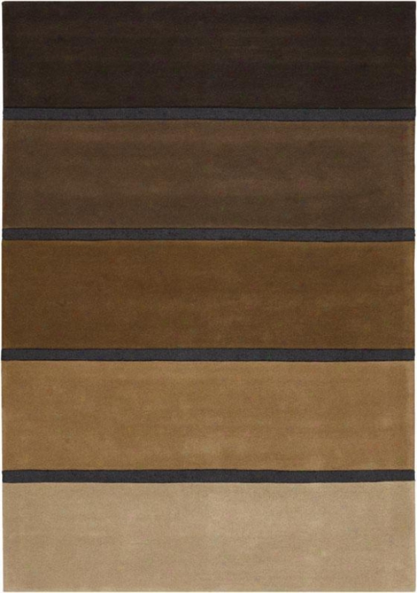 """tonal Rug - 2'6""""x4'6"""", Brown"""