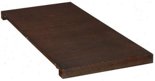 """""""tong Dining Table Leaf - 38""""""""wx18""""""""d, Brown Wood"""""""
