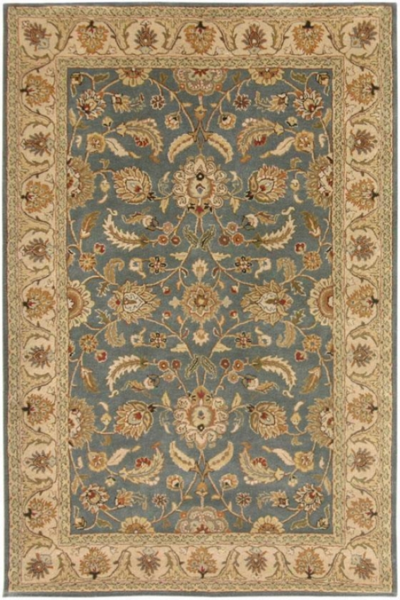 Toulouuse Rug - 6' Round, Blue