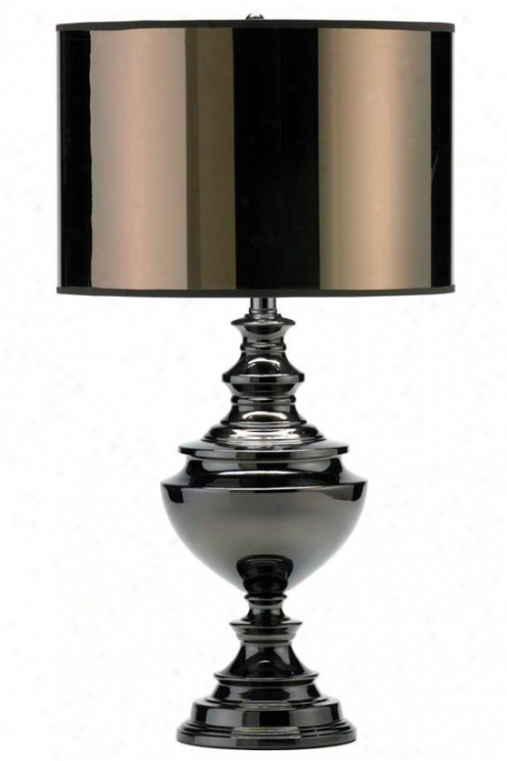 """traditional Table Lamp - 27.5""""h, Bronze"""