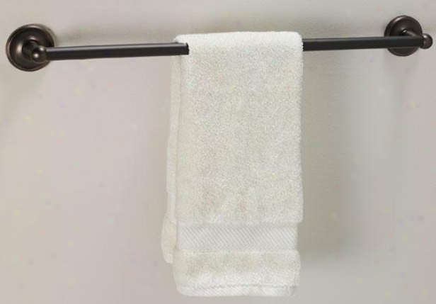 """traditional Towel Bar - 18"""", Bronze Bronze"""