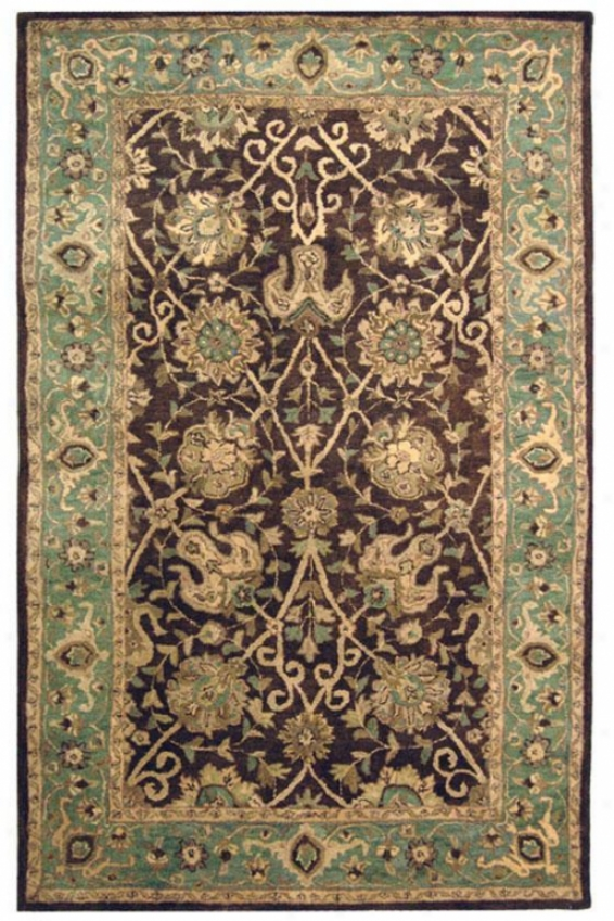 T5aditions I Area Rug - 8' Round, Coffee