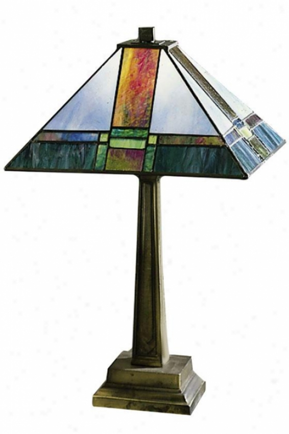 """""""tranquility Table Lamp - 19h X 13""""""""d, Copper Brass"""""""