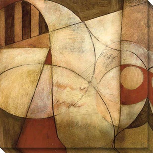 Transformation Iii Canvas Wall Art - Iii, Beige