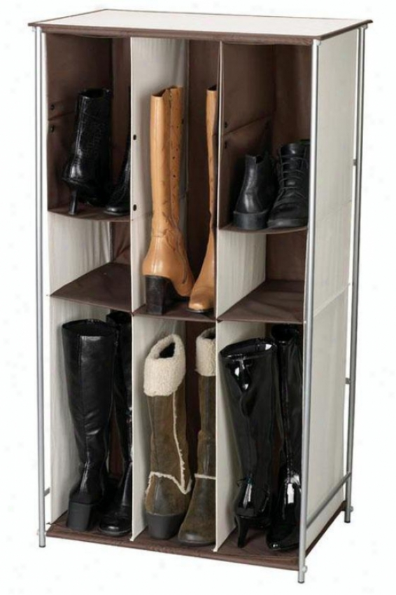 """transformer Boot Storage - 41.5""""hx23""""w, Ivory"""