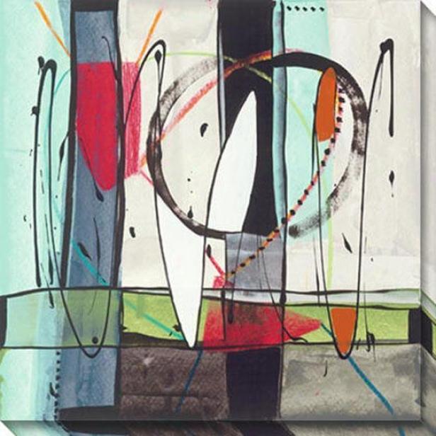 Transparence I Canvas Wall Art - I, Multi