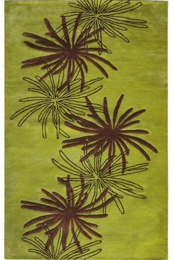 """triumphant Area Rug - 2'6""""x4'6"""", Green"""
