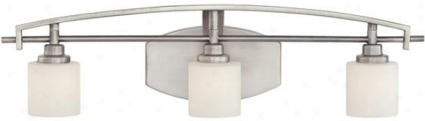 Truman Curved 3-light Emptiness Light - 3-light/curved, Nickel