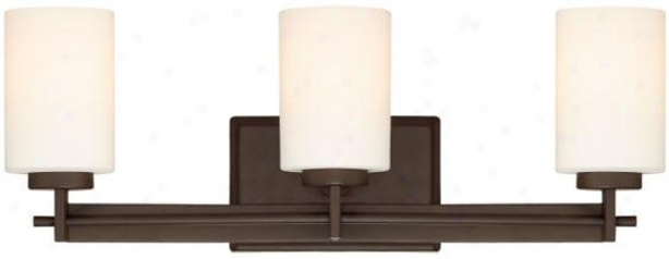 Truman Rectangular 3-light Conceit Light - 3-light/rctngl, Western Bronze