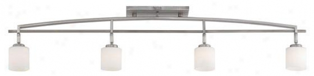 Truman Track Unencumbered - 4-light ,Nickel