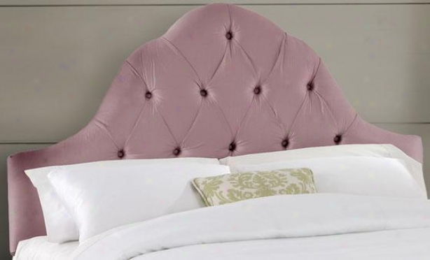 Tufted Arch Headboard - Twin, Shantung Woodrs