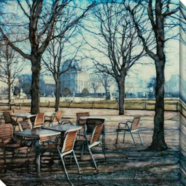 """""""tuileries Canvas Wall Art - 40""""""""hx40""""""""w, Multi"""""""