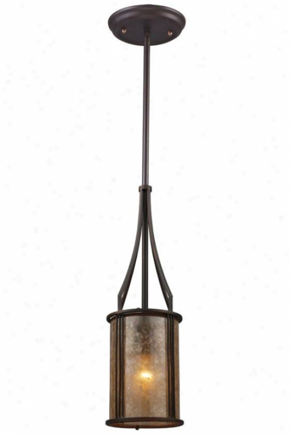 Turlington Mini Pendant - 1 Light, Bronze Bronze