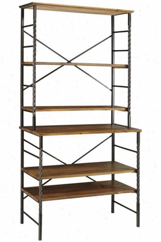 Tuscan Bookshelf - 5 Tier, Black