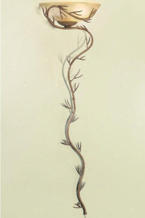Twigs Pin-up Wallchiere - Vintage Scavo, Bronze