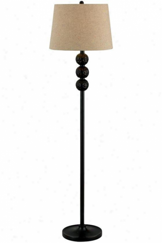 """twilight Floor Lamp - 58""""h, Bronze"""