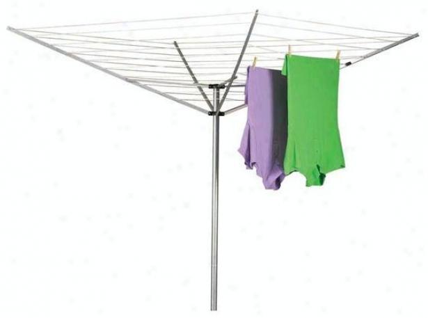 """""""umbrella Outdoor Air Dryer - 72""""""""hx73""""""""w, Glvnz St/alm Up"""""""