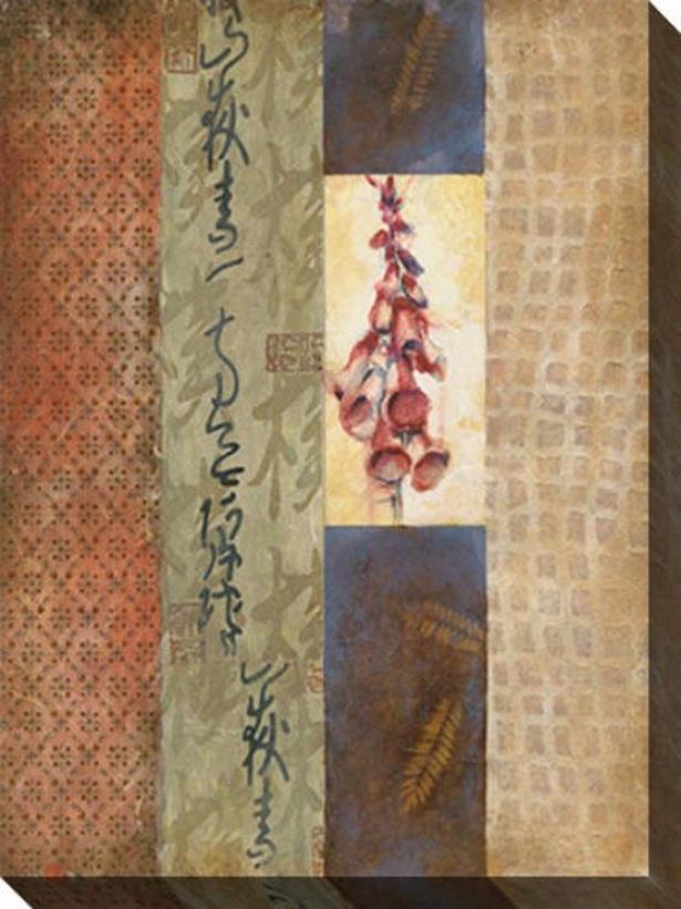 Single Attraction Iii Canvas Wall Art - Iii, Brown
