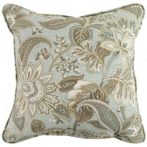 """valdosta Cliffside Mist Fiber-filled Pillow - Fiber-flld Pllw, 17"""" Square"""