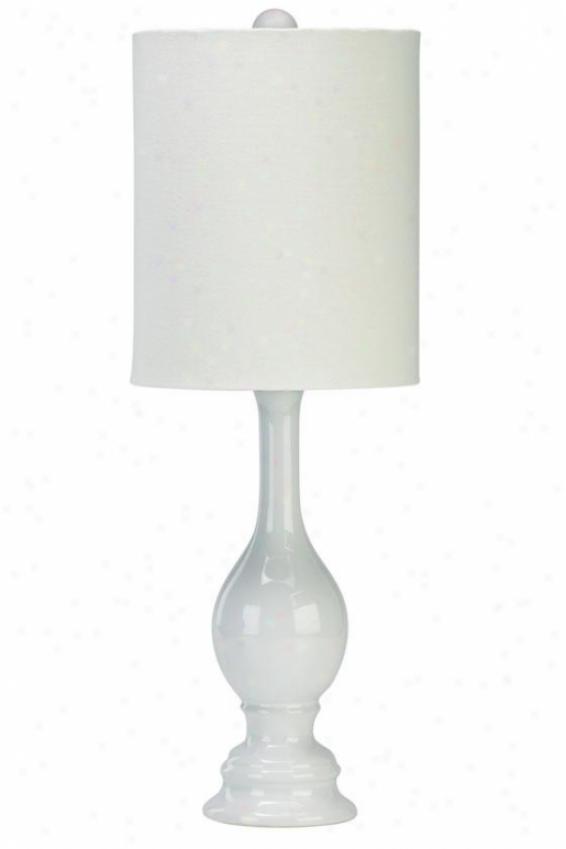 """""""vase Table Lamp - 25.5""""""""h, White"""""""