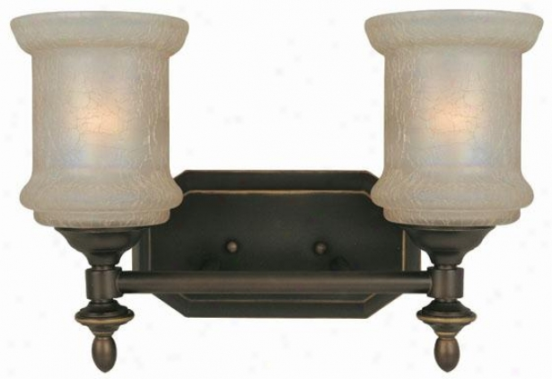 Vashon 2-light Vanity Light - Two Light, Bronze