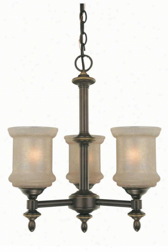 Vashon 3-light Chandelier - Three Light, Bronze