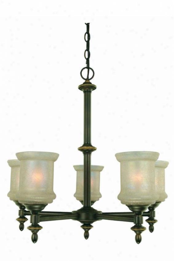 Vashon 5-light Chandelier - Five Light, Bronze