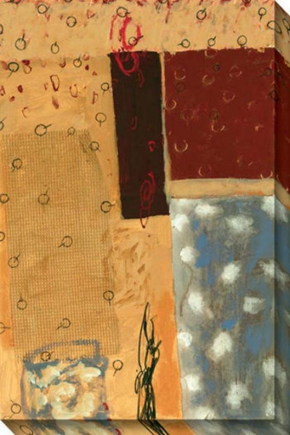 Verada Iii Canvas Wall Art - Iii, Yellow