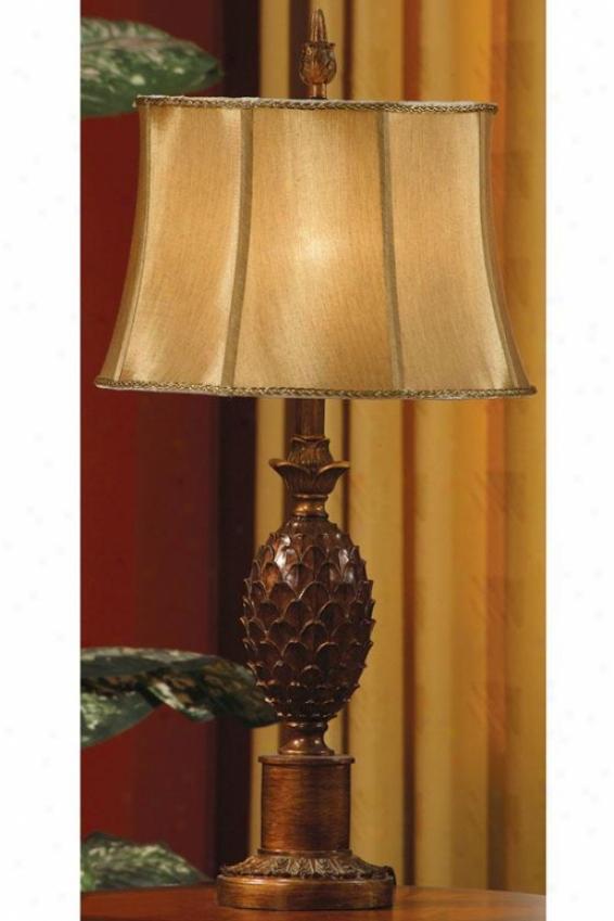 """verdi Gold Table Lamp - 30.5""""h, Verdi Gold"""