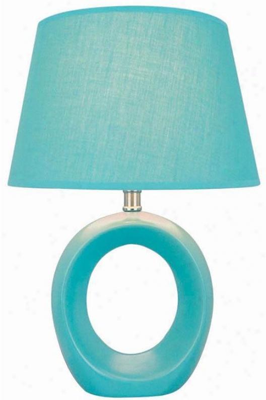 Viko Table Lamp - Blue Building Shd, Blue