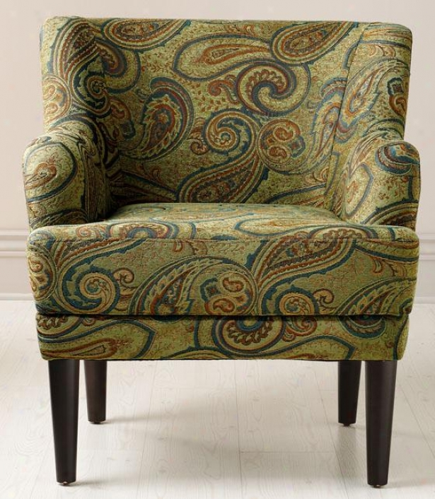 """vincent Arm Chair - 31""""x30"""", Neptune"""