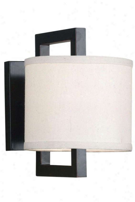 """walcott Sconce - 10""""x7"""", Oil Rubbed Bronze"""